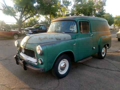 extra parts 1956 Dodge Town Panel Truck project for sale