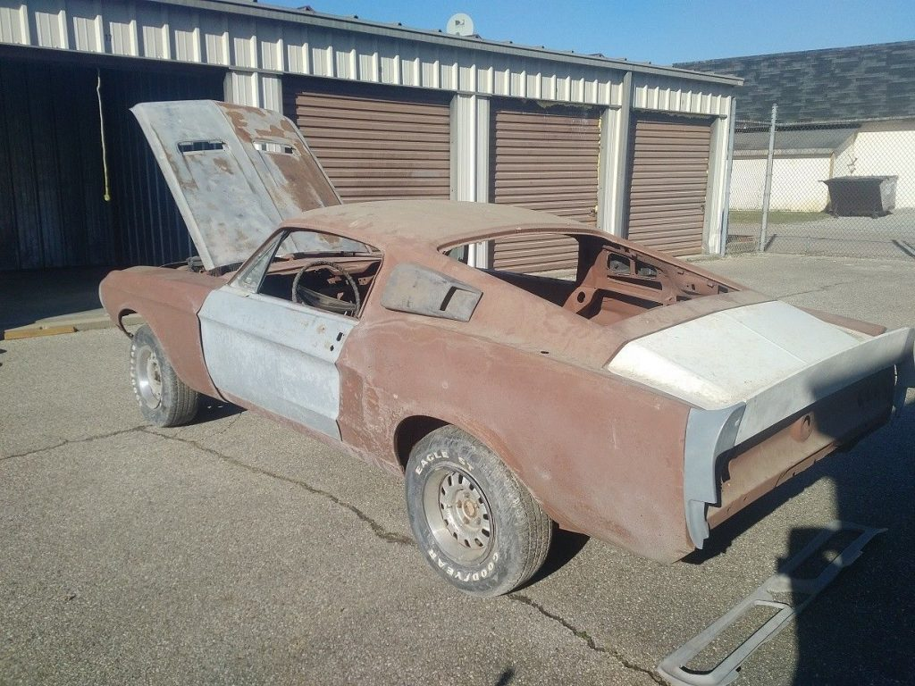 extra parts 1968 Ford Mustang project