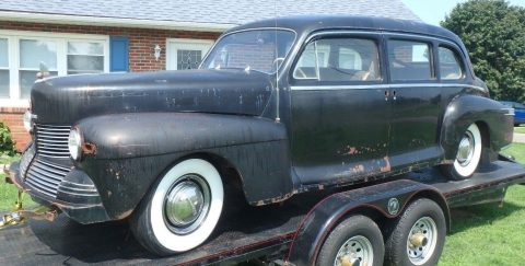 lriginal survivor 1942 Lincoln Custom Limousine solid project for sale
