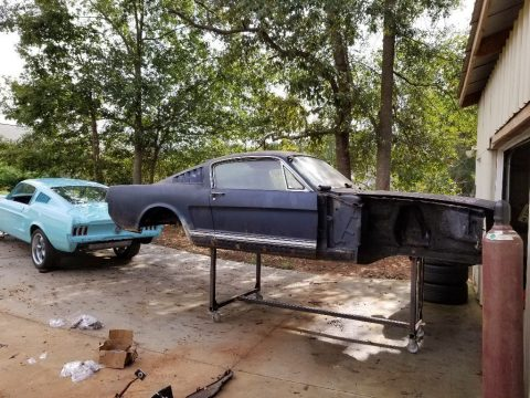 many parts 1965 Ford Mustang Fastback 289 4BBL 4SPD project for sale