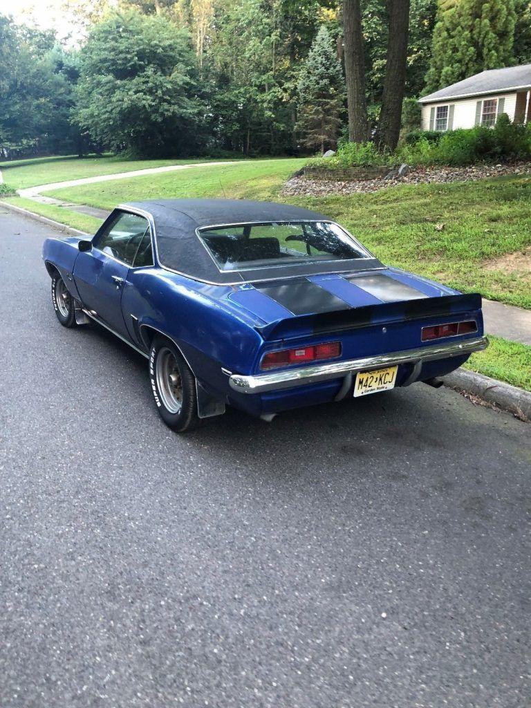 needs restoration 1969 Chevrolet Camaro project