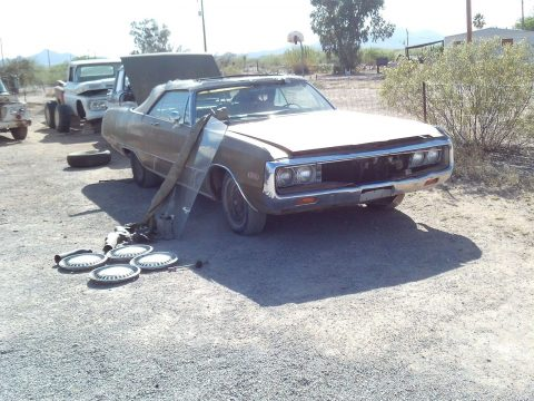 pretty solid 1970 Chrysler Newport Neport project for sale