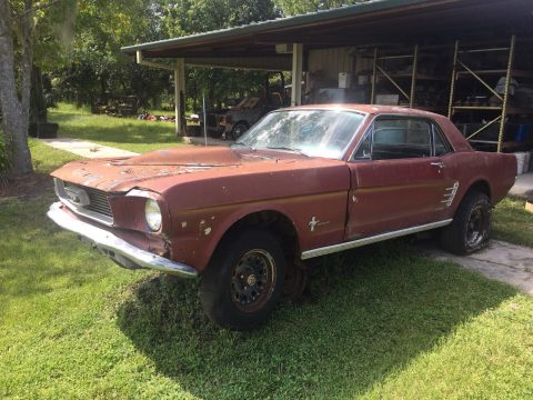 quite solid 1966 Ford Mustang Project for sale