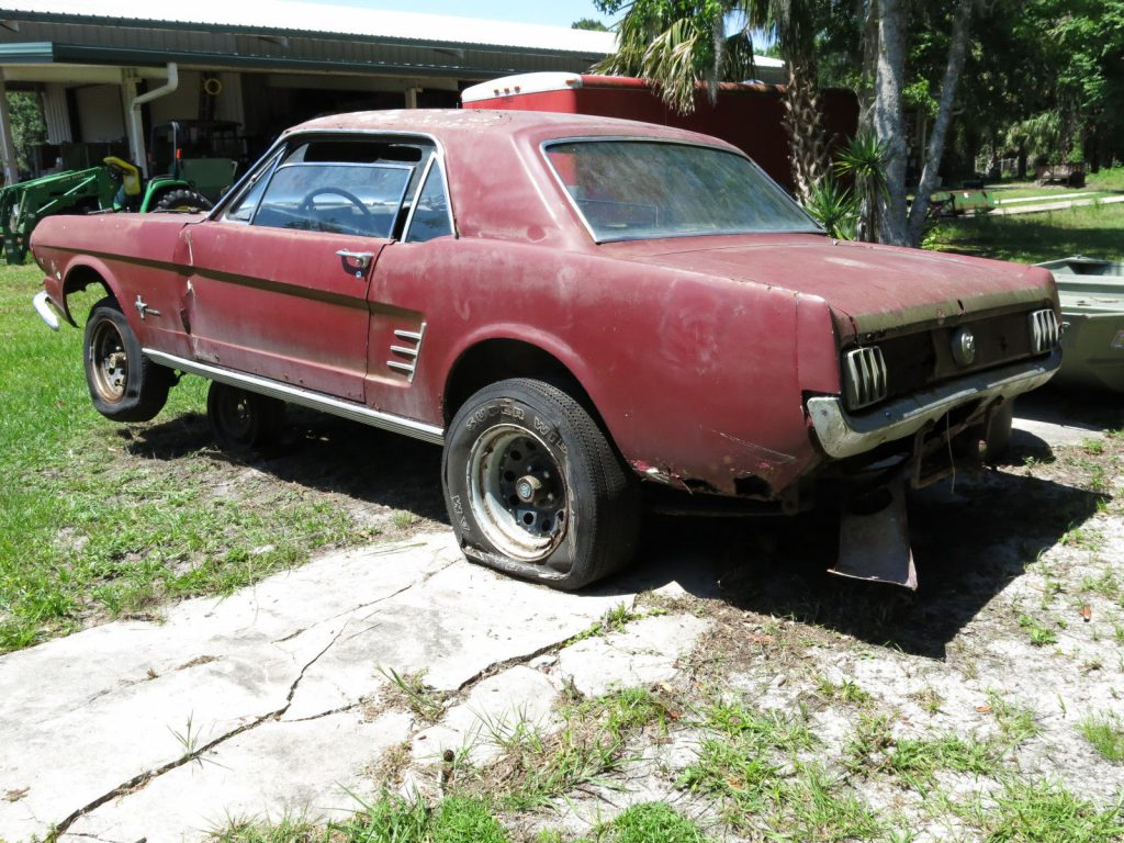 quite solid 1966 Ford Mustang Project