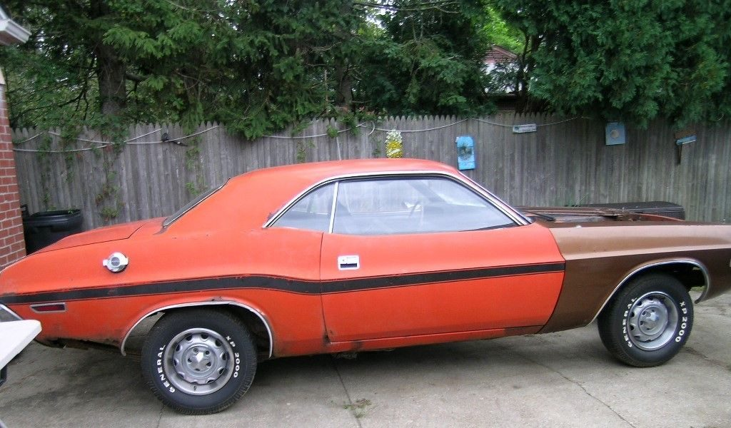 rare 1970 Dodge Challenger R/T project