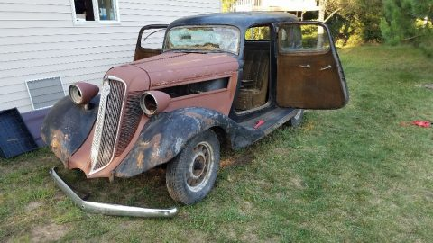 solid 1934 Studebaker Dictator project for sale
