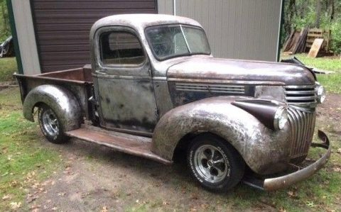 solid 1941 Chevrolet Pickup project for sale
