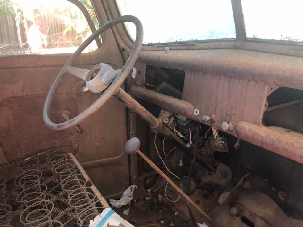 solid 1942 Ford 1/2 Ton Pickup project