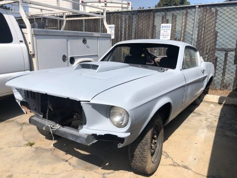 solid 1968 Ford Mustang GT project for sale