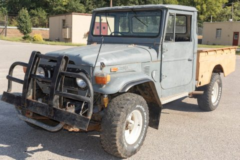 solid 1973 Toyota Land Cruiser project for sale