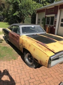 solid original 1970 Dodge Charger project for sale