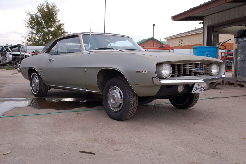 solid roller 1969 Chevrolet Camaro project