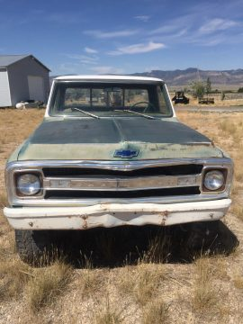 some rust 1969 Chevrolet C 10 Short Bed project for sale