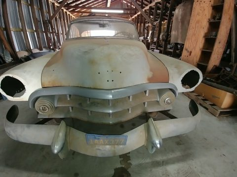 barn find 1951 Cadillac 62 Series project for sale