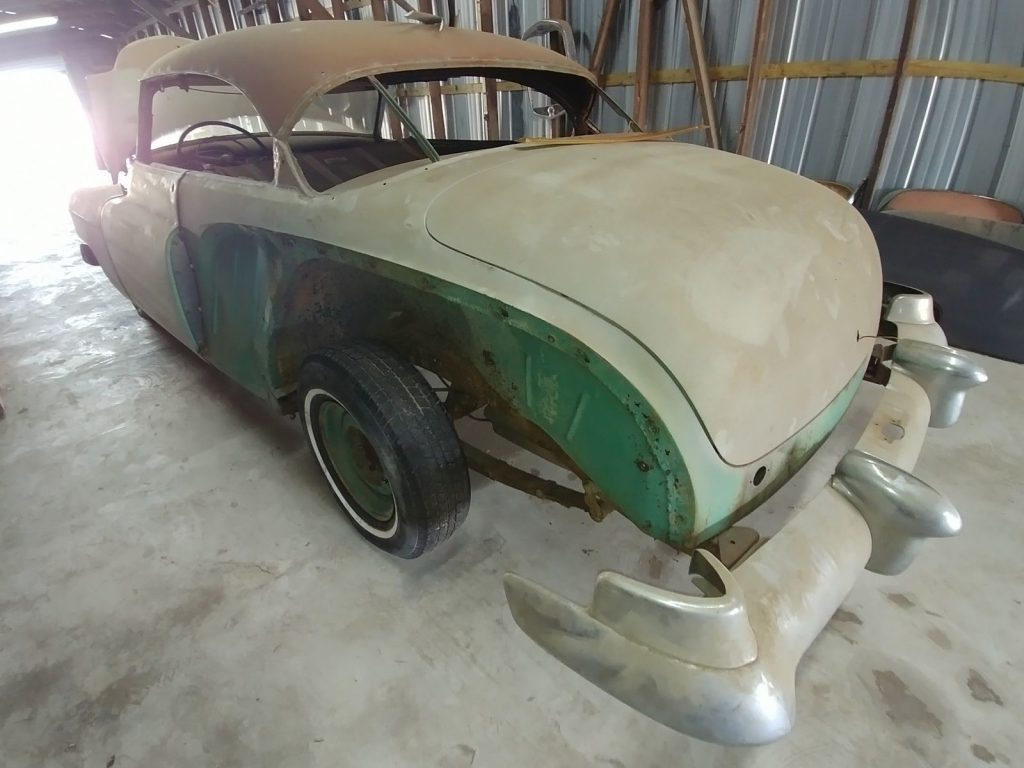 barn find 1951 Cadillac 62 Series project