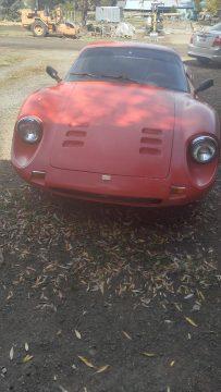 barn find 1972 Ferrari Dino 246 GT Replica project for sale