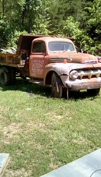 low mileage 1952 Ford dump truck project for sale