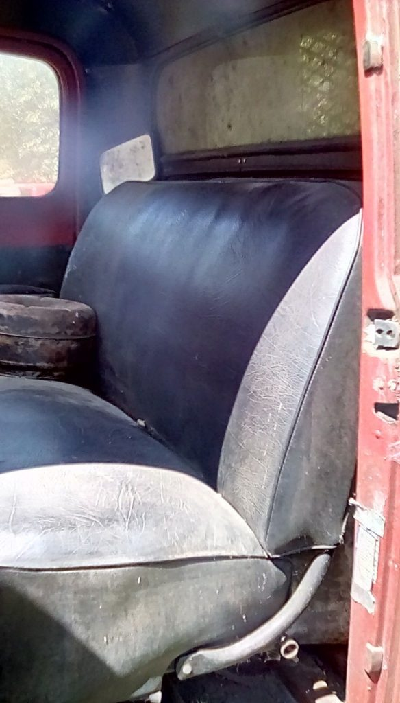 low mileage 1952 Ford dump truck project