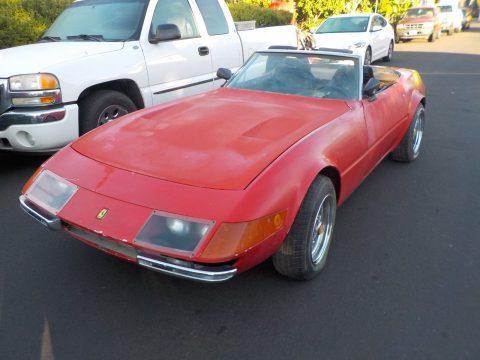 needs TLC 1972 Ferrari Daytona Spyder Replica project for sale