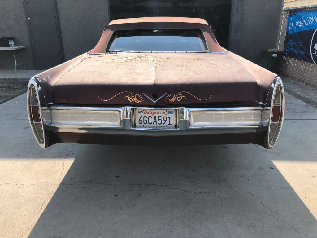 solid 1967 Cadillac DeVille Convertible project