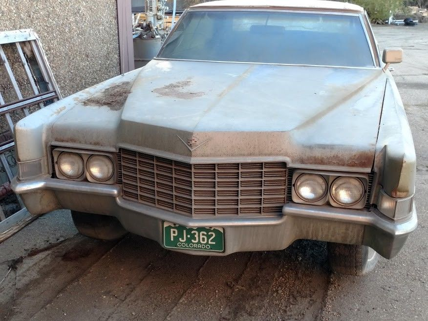 solid 1969 Cadillac Deville Sedan project