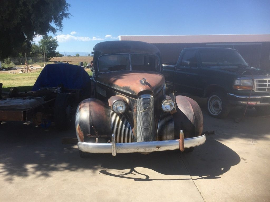 almost complete 1939 Lasalle HEARSE project