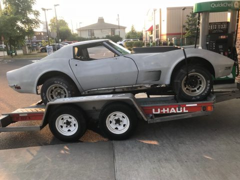 extra parts 1973 Chevrolet Corvette project for sale