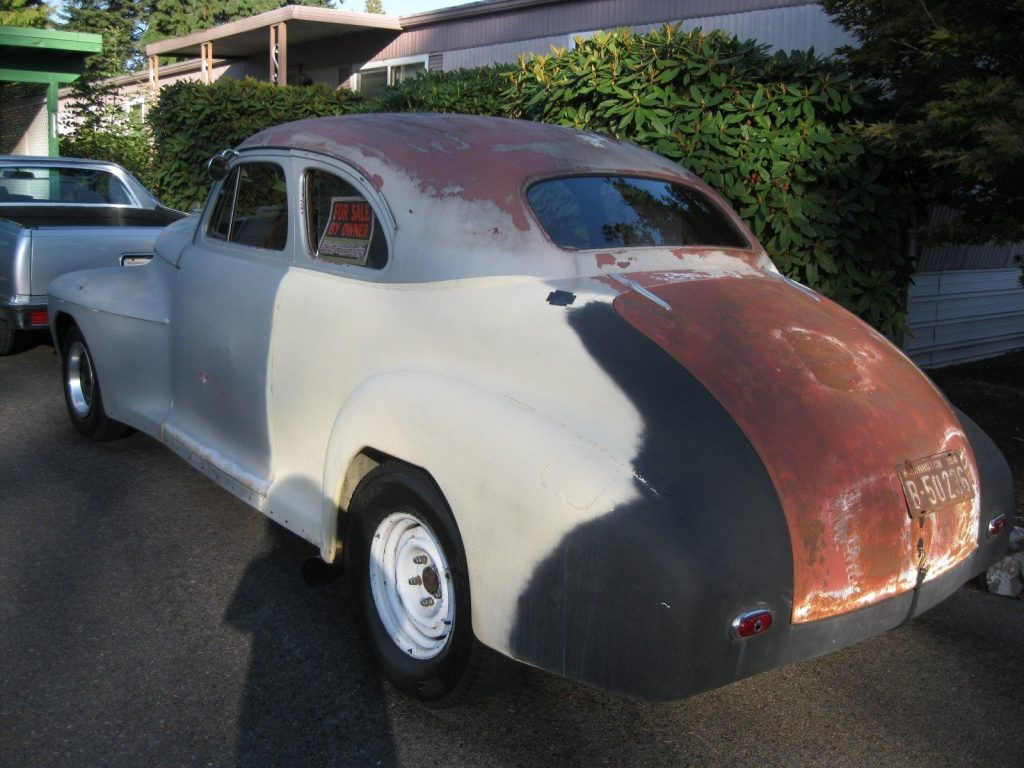hot rod or custom 1941 Oldsmobile Series 66 Coupe project