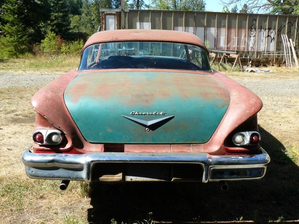 missing engine 1958 Chevrolet Bel Air/150/210 project