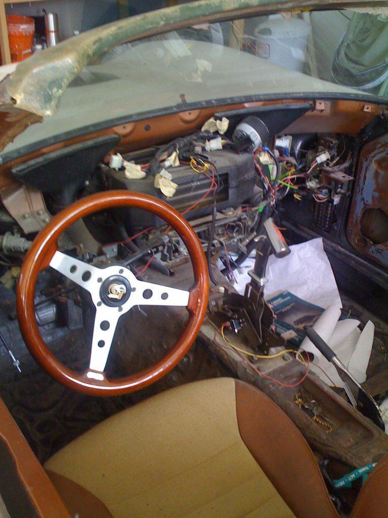 needs finishing 1962 Ferrari Velo Rossa Spyder 250 Replica project