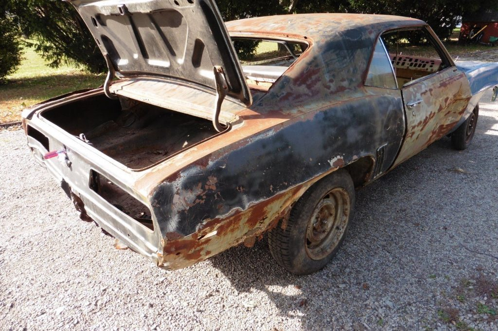 needs new sheetmetal 1969 Chevrolet Camaro project