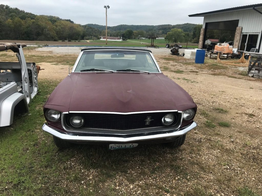 pretty original 1969 Ford Mustang project