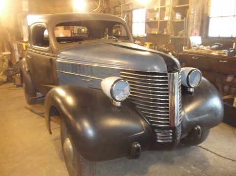 RARE CANADIAN 1938 Pontiac Silver Streak project for sale