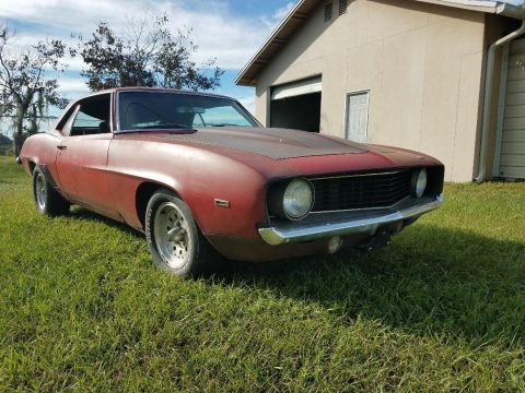 running 1969 Chevrolet Camaro project for sale