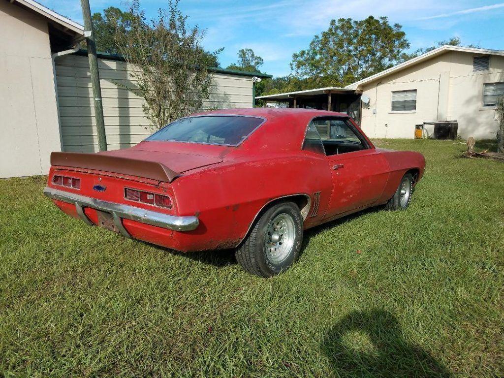 running 1969 Chevrolet Camaro project