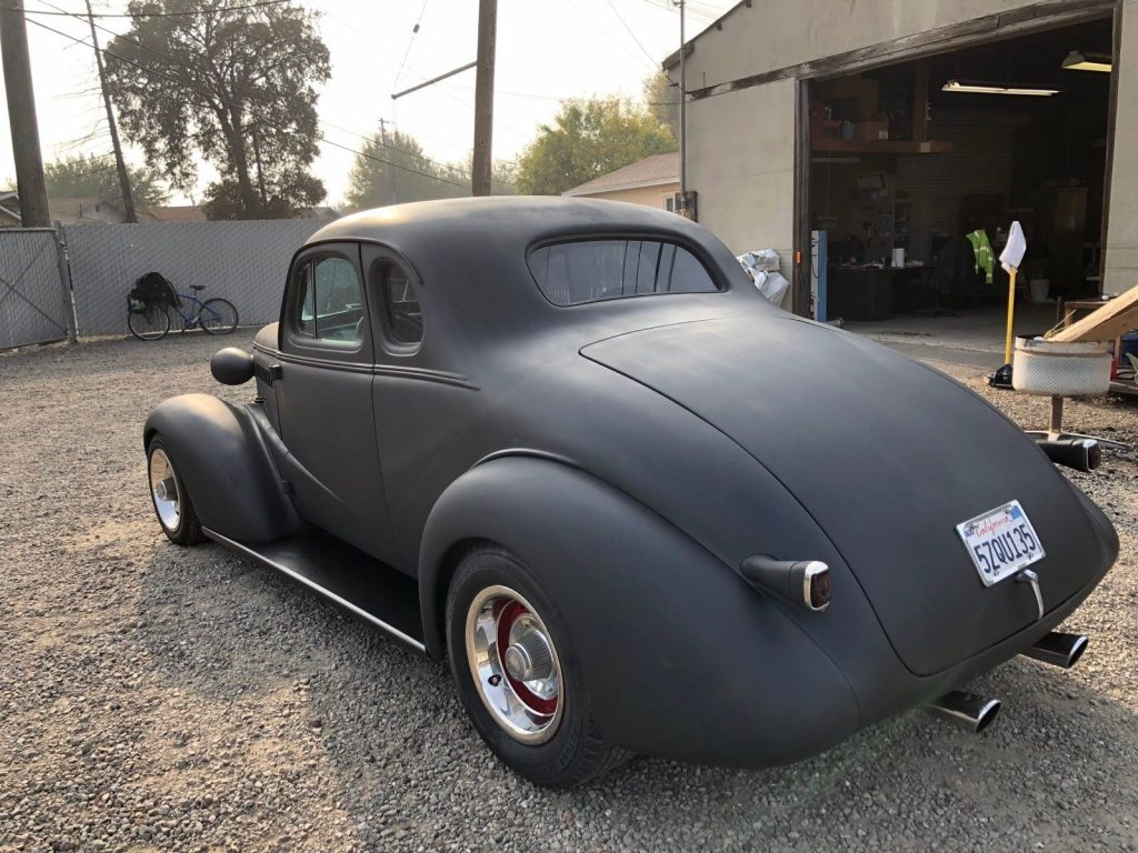 solid 1938 Chevrolet Coupe project
