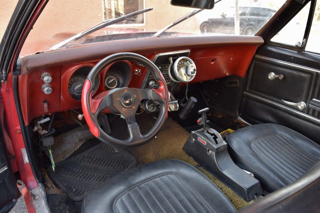 solid 1967 Chevrolet Camaro SS convertible project