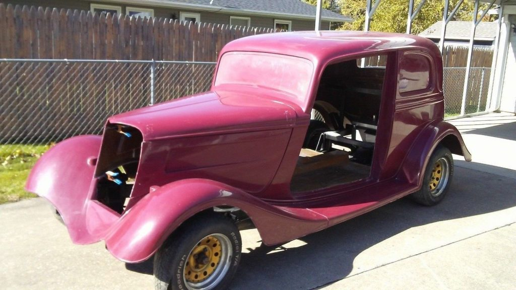 almost complete 1933 Ford Victoria replica Project
