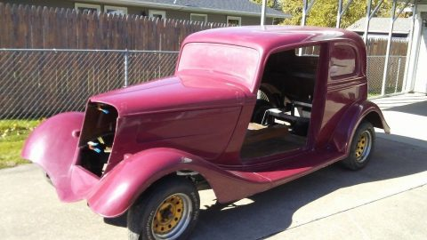 almost complete 1933 Ford Victoria replica Project for sale