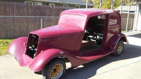 almost complete 1933 Ford Victoria replica Project for sale