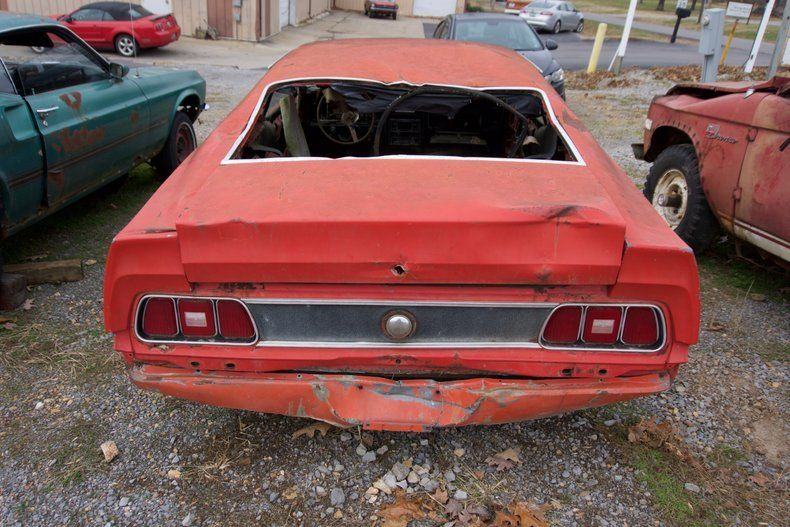 Cobra clone 1971 Ford Mustang project