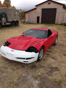 easy project 1997 Chevrolet Corvette project for sale