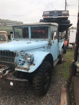 extra parts 1953 Dodge Power Wagon military project for sale
