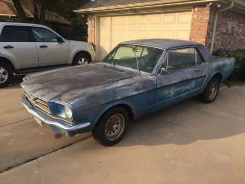 low miles 1965 Ford Mustang project for sale