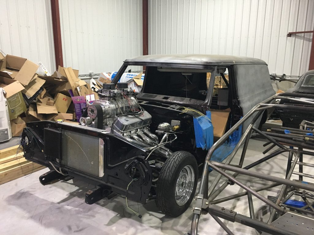 monster 1969 Chevrolet C 10 project