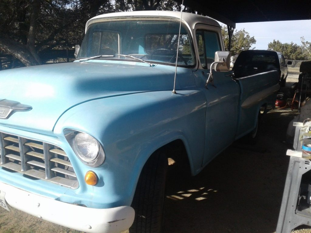 needs engine 1955 Chevrolet Pickup project
