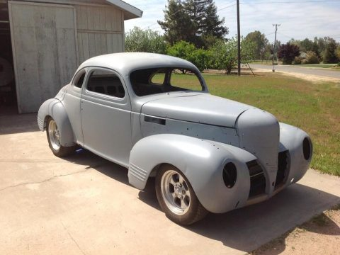 needs finishing 1939 Dodge D11 Club Coupe project for sale
