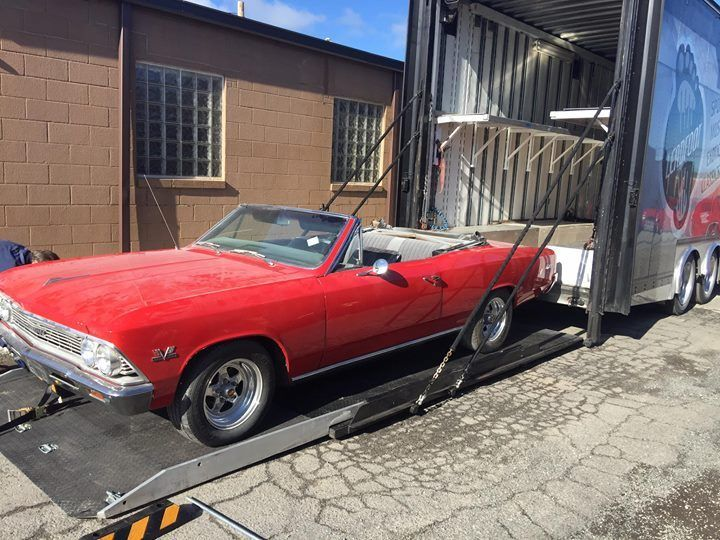 needs finishing 1966 Chevrolet Chevelle project
