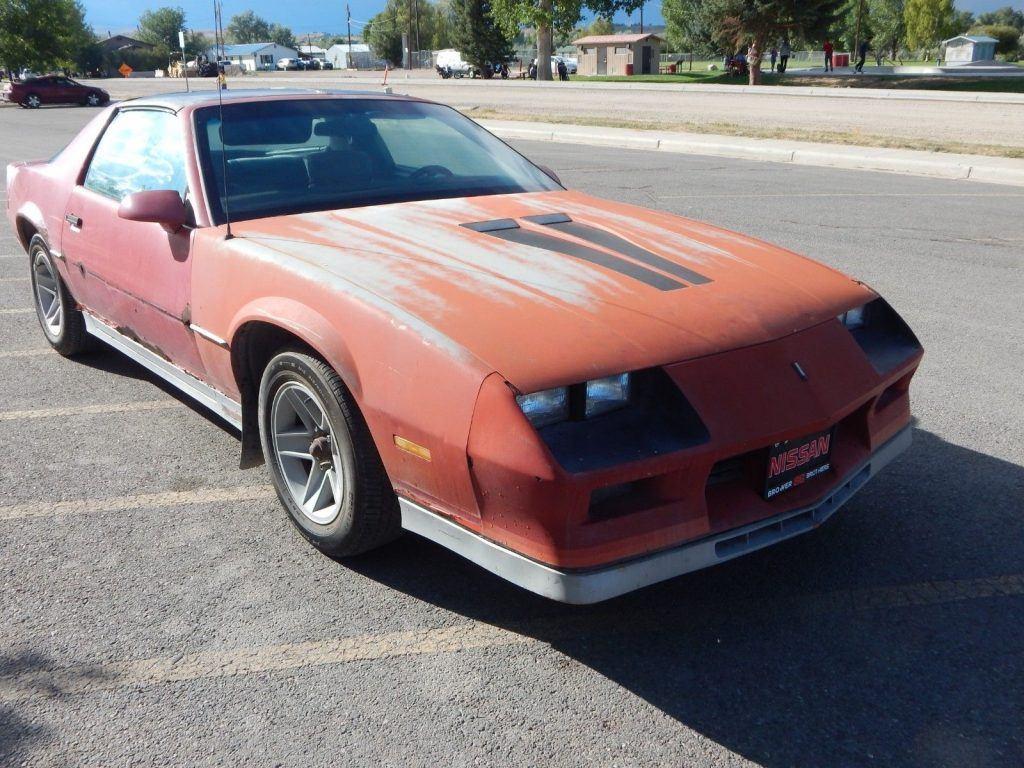 needs TLC 1984 Chevrolet Camaro Z 28 project