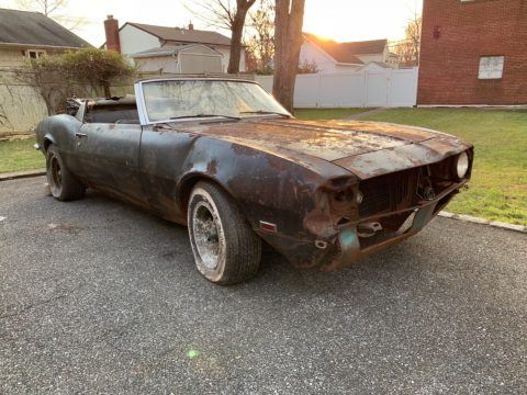 needs total resto 1968 Chevrolet Camaro Convertible project for sale